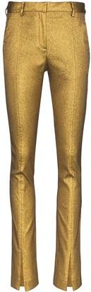 Victoria Beckham Lurex trousers