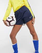 Nike Training Nike Soccer dry academy shorts in blue