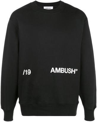Ambush crew-neck logo sweatshirt