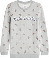 Zoe Karssen Printed Sweatshirt with Cotton