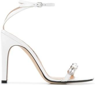 Sergio Rossi Sr1 square-toe sandals