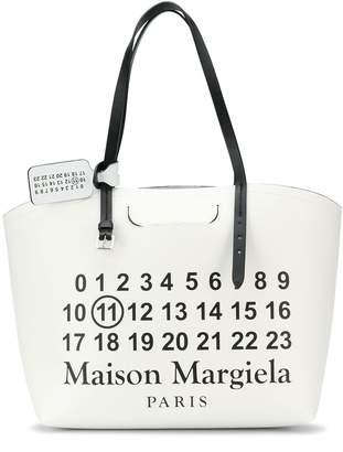 Maison Margiela number print tote