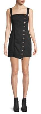 Finders Keepers Tia Buttoned Mini Dress
