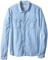 Nudie Jeans Men's Jonis Denim Shirt In