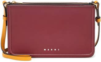 Marni Beat Mini leather crossbody bag