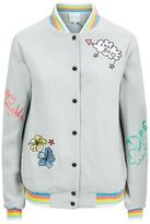 Mira Mikati Lost Boys Embroidered Bomber Jacket