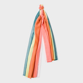 Paul Smith Women's Multi-Coloured 'Skirt Stripe' Scarf