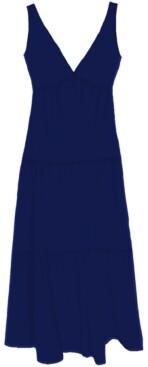 Taylor Petite Fit & Flare Midi Dress