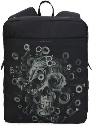 Alexander McQueen Men's Nylon Skull Harness Backpack