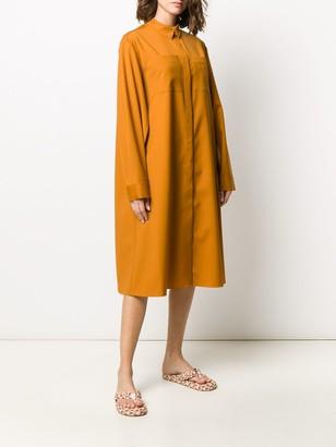 Maison Rabih Kayrouz Chest Pocket Shirt Dress