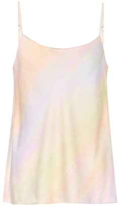 Vince Marble-printed camisole