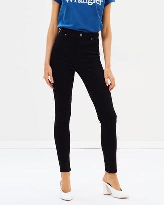 Wrangler Hi Pins Skinny Jeans