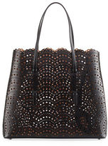Alaia Classic Laser-Cut Tote Bag
