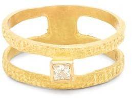 Roxy Orit Elhanati Graphic Diamond & 18kt Gold Ring - Womens - Gold