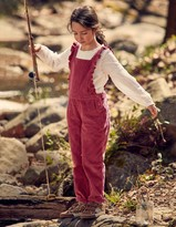 Chunky Cord Frill Dungarees
