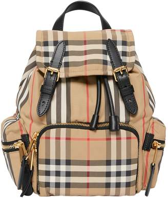 Burberry Small Vintage Check Rucksack