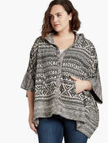 Lucky Brand Jacquard Terry Poncho