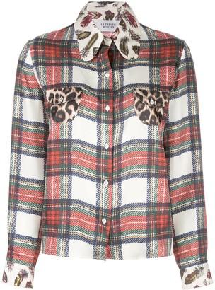 La Prestic Ouiston multi-print shirt