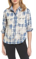 AG Jeans Women's Beth Plaid Shirt