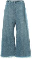 Simon Miller wide-leg cropped jeans - women - Cotton - 2