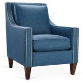 Colleen Club Chair, Blue