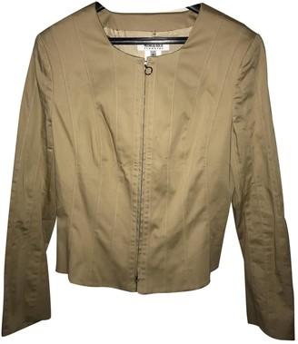 Georges Rech Beige Cotton Jacket for Women