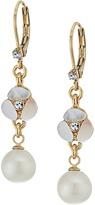 Kate Spade Disco Pansy Drop Leverback Earrings Earring