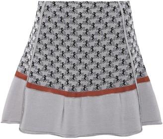 Chloé Jacquard knit miniskirt
