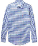 Ami Gingham Cotton Shirt