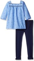 Nautica Big Girls' Tunic with Legging Set