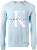 Calvin Klein Jeans logo sweatshirt - men - Cotton - L