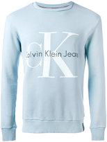 CK Calvin Klein logo sweatshirt