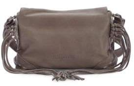 Liebeskind Berlin Sapporo F7 Leather Fringe Crossbody Bag