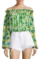 Rococo Sand Cotrie Floral Off-the-Shoulder Top