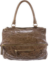 Givenchy Distressed Leather Pandora Bag