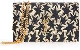 Saint Laurent Monogramme Jacquard Chain Wallet