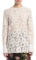 Lanvin All-Over Lace Blouse