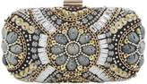 Issa Luana embellished box clutch