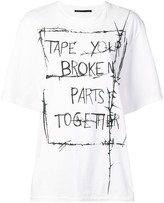 Haider Ackermann oversized T-shirt