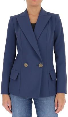 Elisabetta Franchi Double Breasted Jacket