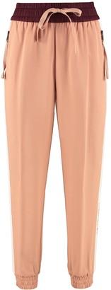 Moncler Contrasting Side Stripe Track-pants