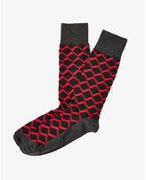 Express geo print socks