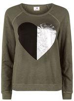 Sundry Heart Foil Sweatshirt