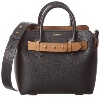 Burberry Small Belt Bag Leather Tote