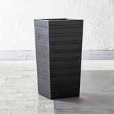 "Crate & Barrel Tidore Tall 24"" Planter"