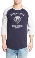 Brixton Men's Rydell Baseball T-Shirt