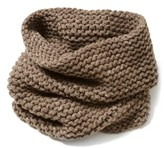 Lafayette 148 New York Women's Hand Knit Metallic Cashmere Tube Scarf