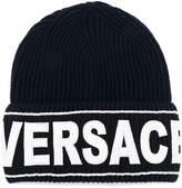 Versace logo hat
