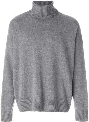 Ami Paris Oversize Turtle Neck Sweater