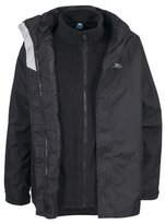 Trespass Mens Black 3 in 1 Jacket - Extra Large